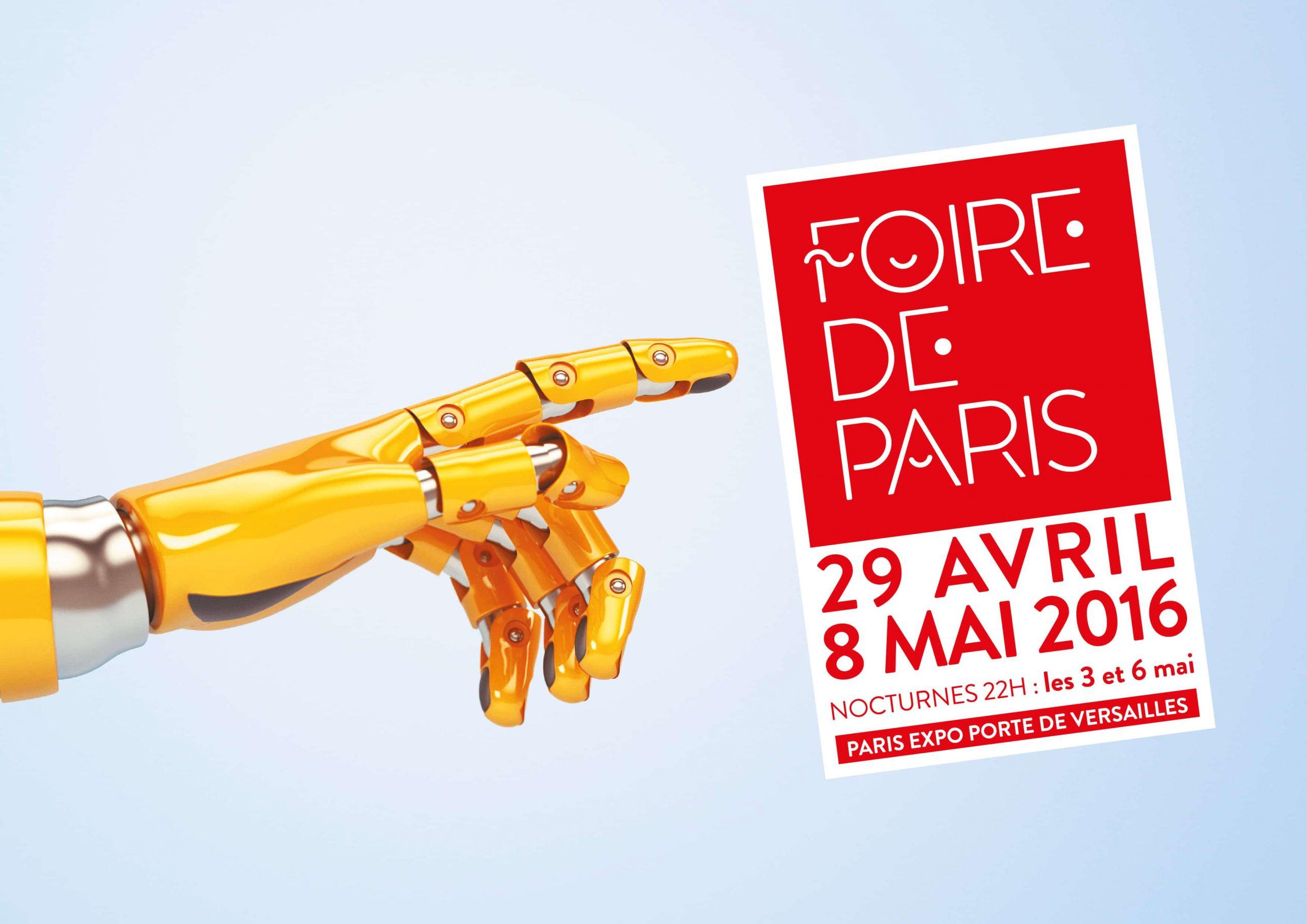 Hase présent à la Foire de Paris – 29 avril au 8 mai