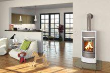 Les poêle à bois, à granulés ou à pellets modernes permettent de chauffer de façon durable et éco-responsable
