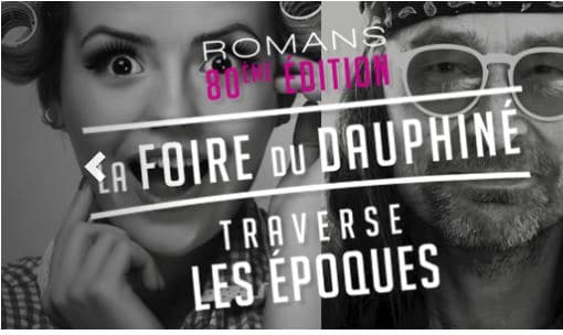 Hase présent à la Foire du Dauphiné de Romans sur Isère – 24 septembre au 2 octobre