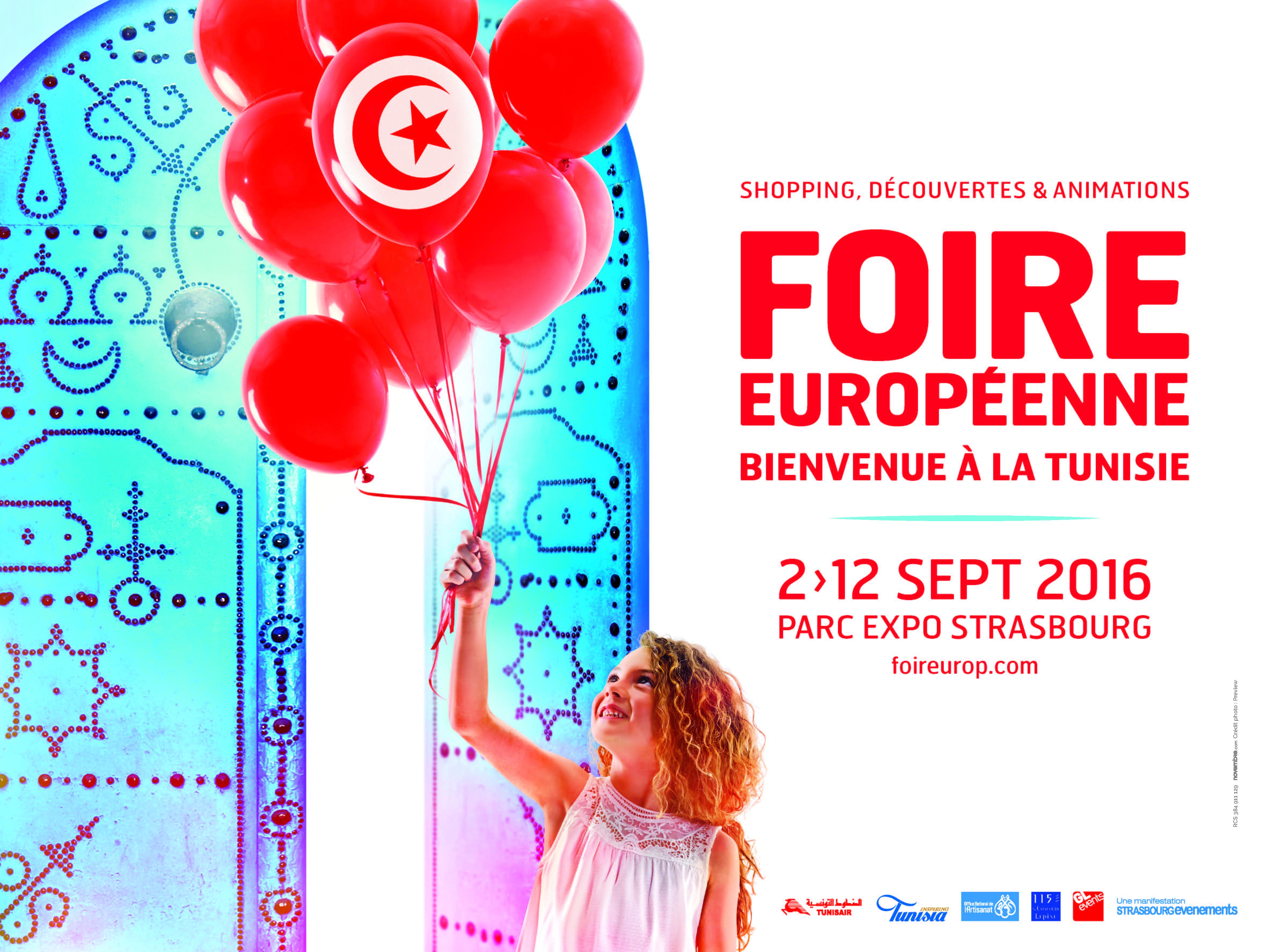 Hase présent à la Foire Européenne de Strasbourg – 2 au 12 septembre 2016