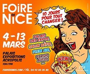 Hase présent à la Foire de Nice (06) – 4 au 13 mars 2017