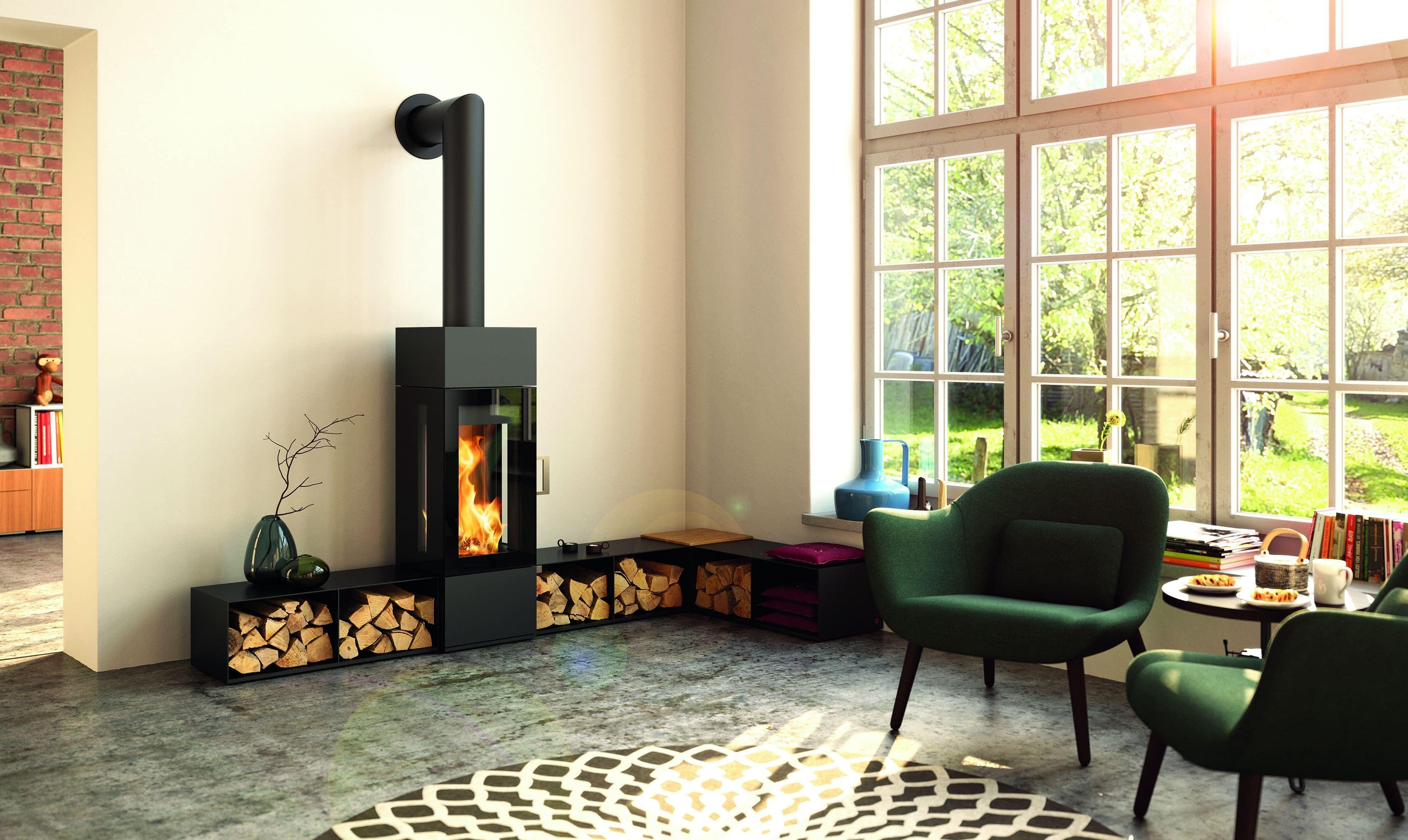 Comment ranger le bois de chauffage de son poêle à bois ?