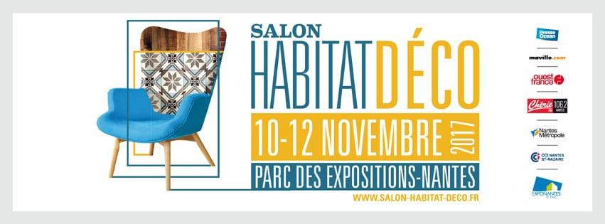 Hase présent au Salon Habitat Déco de Nantes (44) – du 10 au 12 novembre 2017