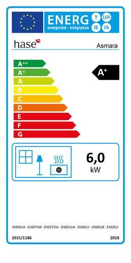 Etiquetage énergétique poêle à bois