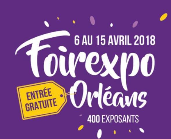 Hase présent à la Foirexpo Orléans (45) – 6 au 15 Avril 2018