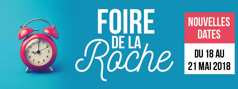 Hase présent à la Foire de la Roche sur Yon (85) – 18 au 21 mai 2018