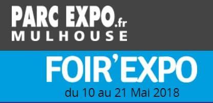 Hase présent à la Foir'Expo de Mulhouse (68) – 10 au 21 mai 2018