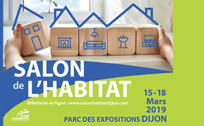 Hase présent au salon de l'Habitat de Dijon (21) du 14 au 18 mars 2019