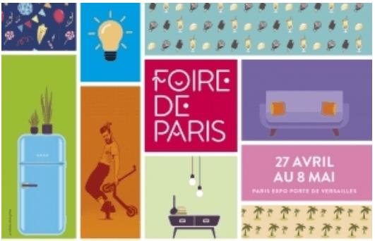 Hase présent à la Foire de Paris (75) du 27 avril au 8 mai 2019