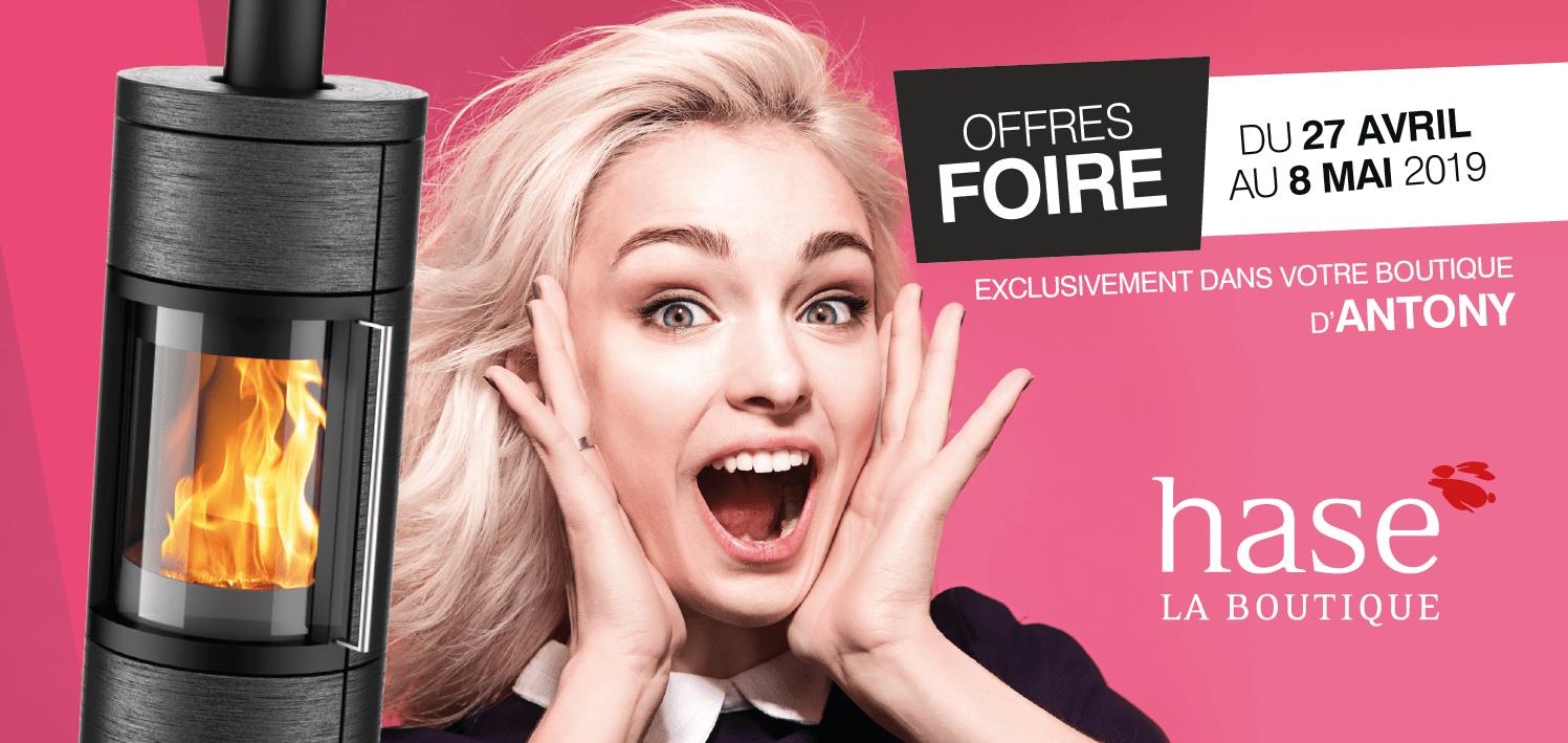 Portes Ouvertes – Offres Exceptionnelles – Hase La Boutique Antony du 17 avril au 8 mai 2019