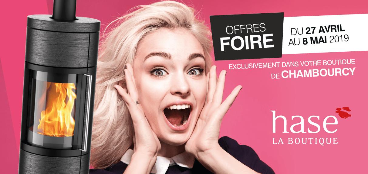Portes Ouvertes – Offres Exceptionnelles – Hase La Boutique Chambourcy du 17 avril au 8 mai 2019