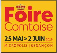 Hase présent à la Foire Comtoise de Besançon (25) du 25 mai au 2 juin 2019