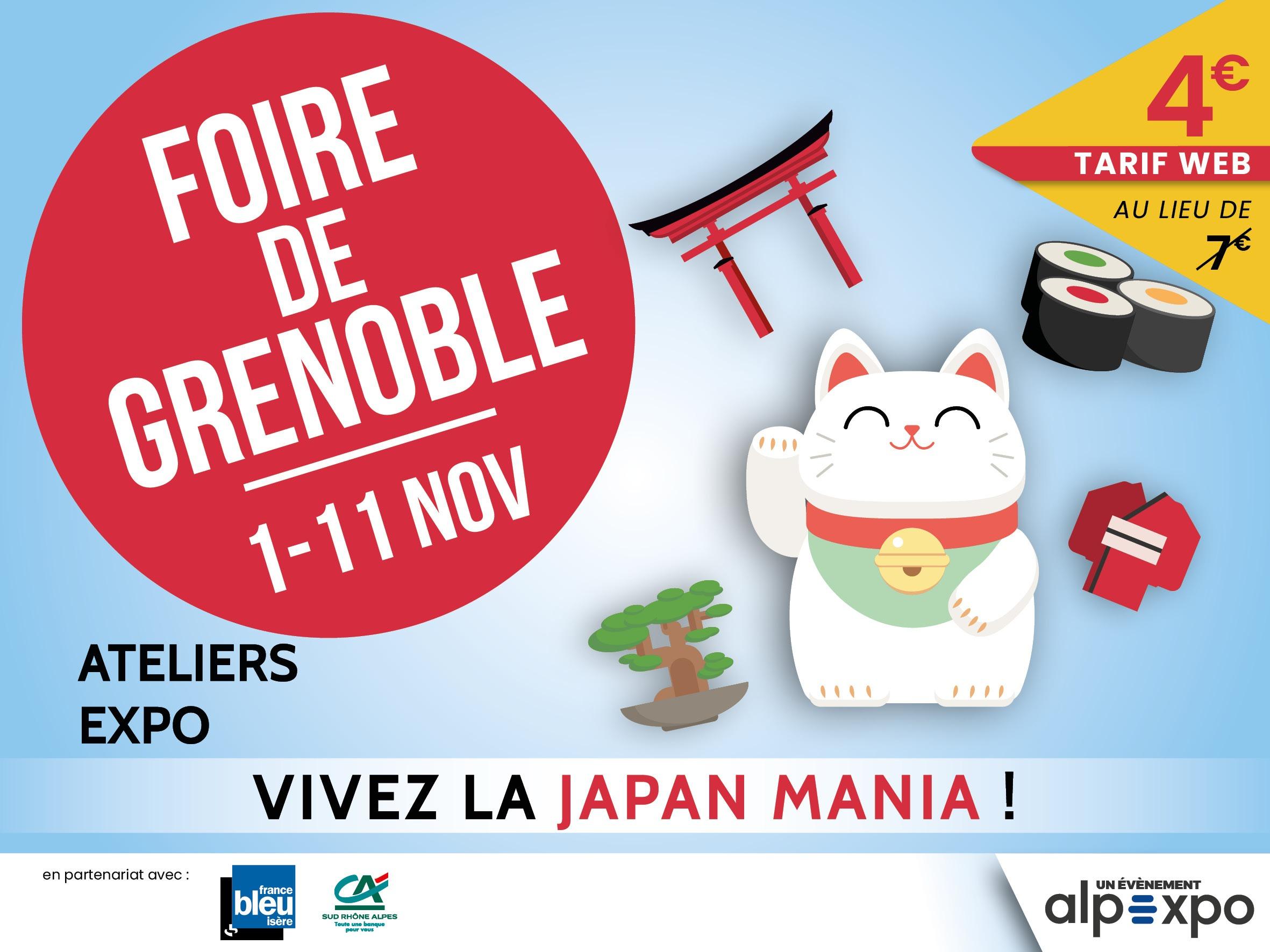 HASE présent à la Foire de Grenoble (38) – du 1er au 11 novembre 2019
