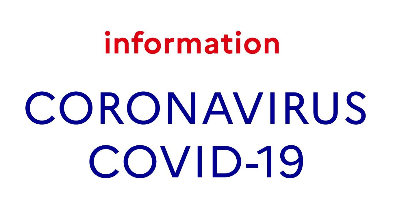 Coronavirus / COVID-19 : nos points de vente sont fermés.