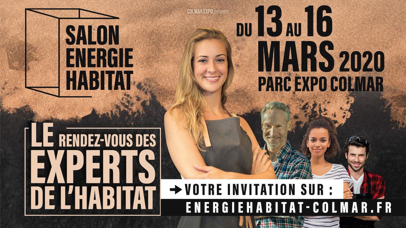 (Annulé) Retrouvez les poêles HASE au salon Colmar Energie Habitat du 13 au 16 mars