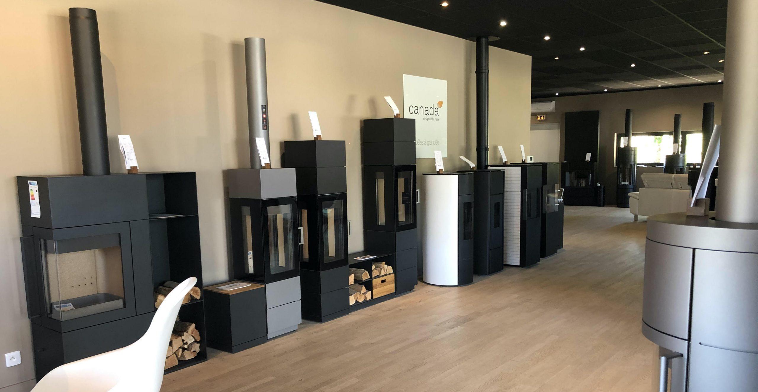 Installateurs de poêle à bois : HASE la Boutique Bordeaux