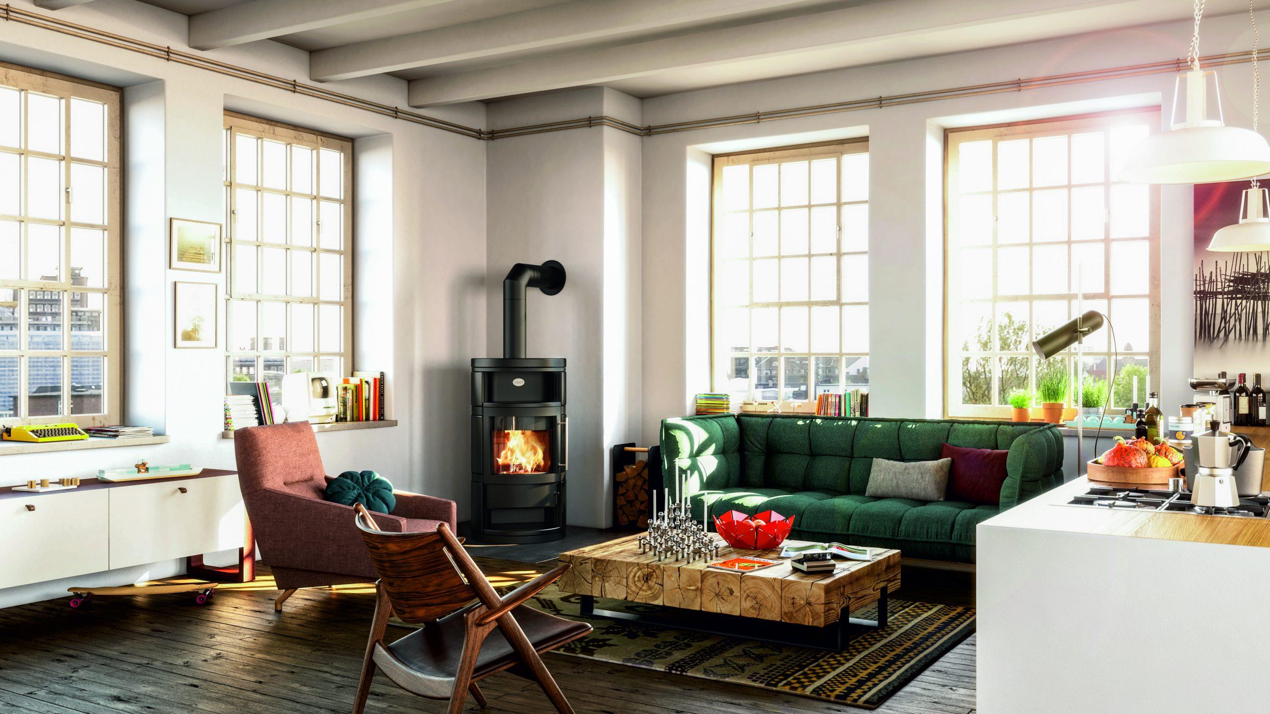 Comment conjuguer poêle à bois et décoration d'intérieur ?